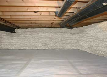 Energy Efficient  Crawl Space