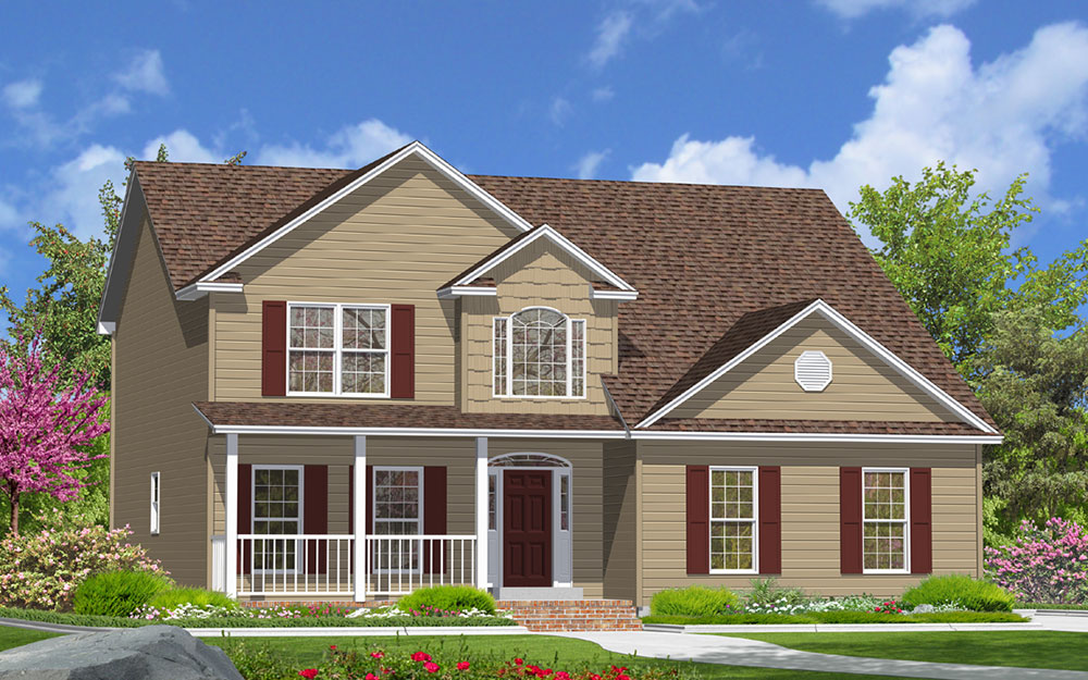 Living Series Front Elevation Image