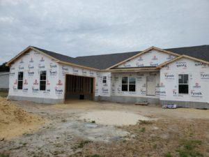 house framing framed house accessible home builders delaware DE